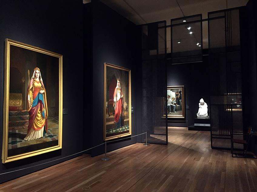 """Exposición """"Invitadas"""". Museo del Prado"""