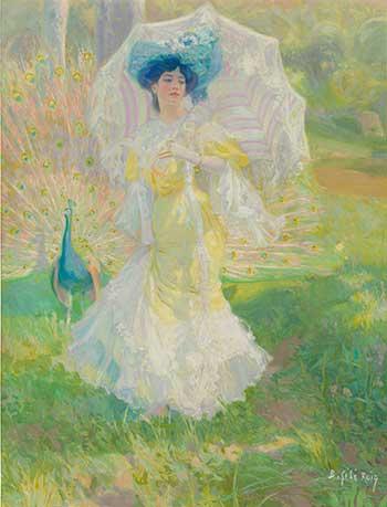 Baldomero Gili y Roig. Soberbia, h. 1908. Museo Nacional del Prado