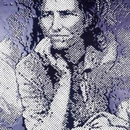 Vik Muniz. Migrant Mother, After Dorothea Lange, 2000