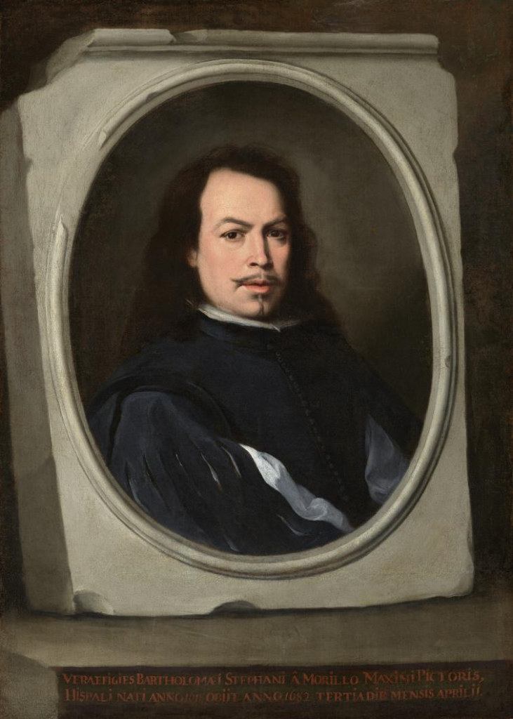 Bartolomé Esteban Murillo. Autorretrato, ca. 1650–1655. The Frick Collection