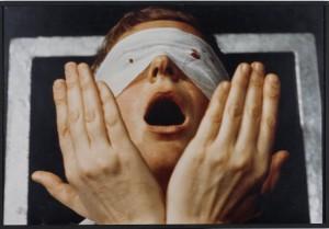 Gina Pane. Detalle de Action Psyché, 1974. Colección IAC, Institut d'art contemporain, Villeurbanne/Rhône-Alpes © ADAGP París © VEGAP, León, 2015-16