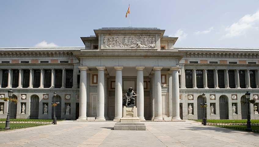 Museo del Prado. Entrada Velázquez