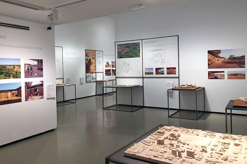 """""""Francis Kéré. Elementos primarios"""". Museo ICO"""