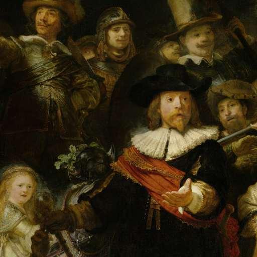 Rembrandt van Rijn. La ronda de noche, 1642. Rijksmuseum
