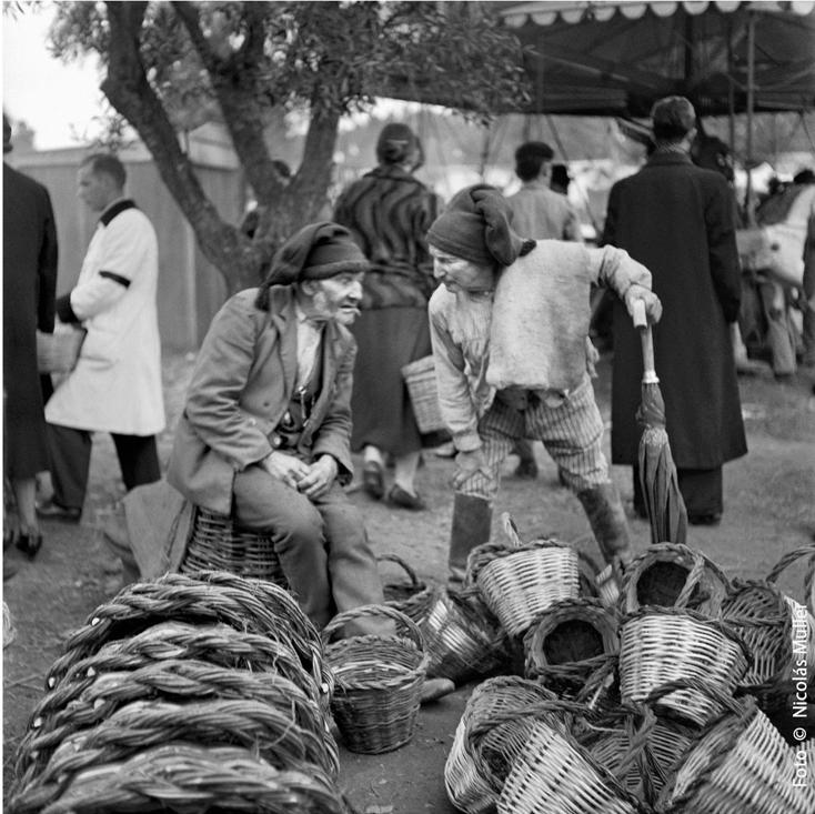 Nicolás Muller. Mercado de Vilar Formoso IV. 1939 Archivo Regional de la Comunidad de Madrid. Fondo Nicolás Muller