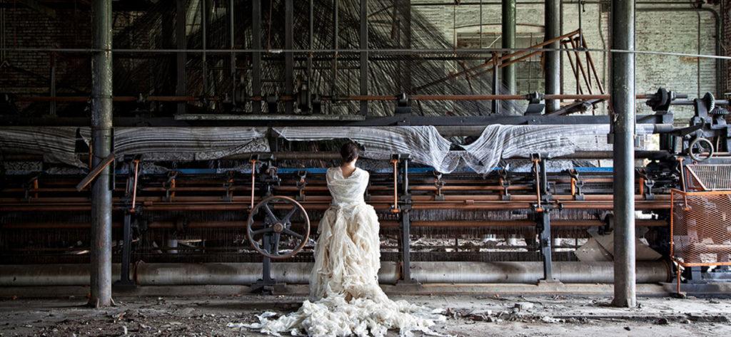 Cecilia Paredes. La hilandera. Galería Blanca Berlín