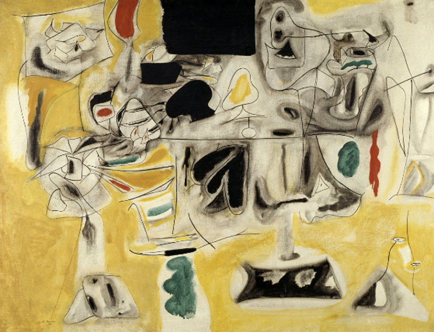 Arshile Gorky. andscape Table, 1945. Centre Georges Pompidou