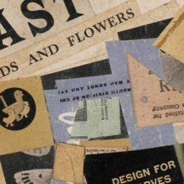 Kurt Schwitters se despidió de etiquetas antiguas