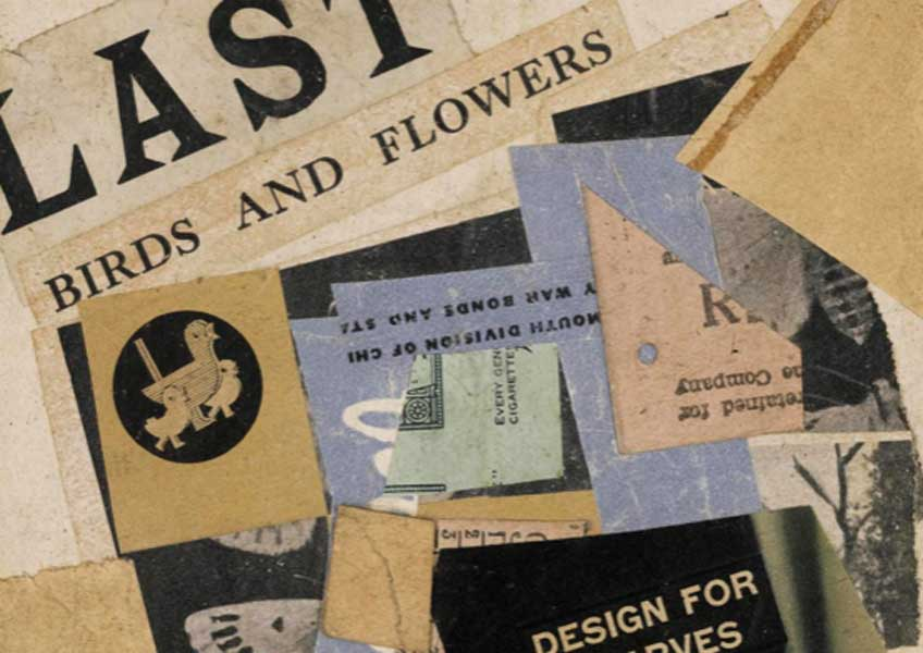 """Kurt Schwitters: A Selection of Collages"" en Nahmad Contemporary"