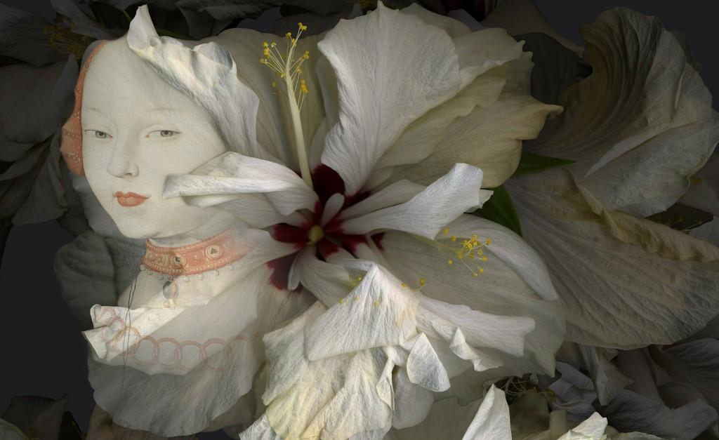Paloma Navares. Hibiscus blancos. Canción de primavera, 2017