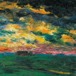Emil Nolde. Ruffled Autumn Clouds, 1927. © Nolde Stiftung Seebüll