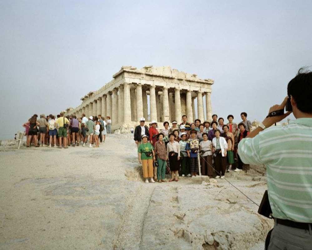 Martin Parr. Acropolis, Athens Greece, 1991 © Martin Parr / Magnum Photos