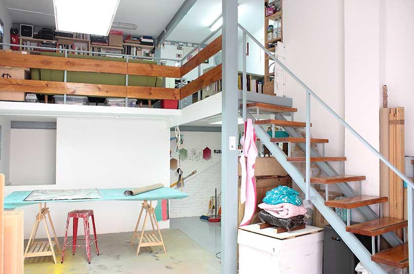 Open Studio. Estudio de Guillermo Mora