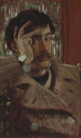 James Tissot. Autorretrato. © Fine Arts museums of San Francisco
