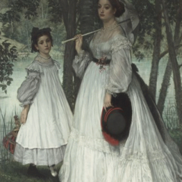 James Tissot. Las dos hermanas. © RMN-Grand Palais (Musée d'Orsay) / Hervé Lewandowski