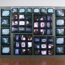Nam June Paik y lo que la televisión tiene de escultura