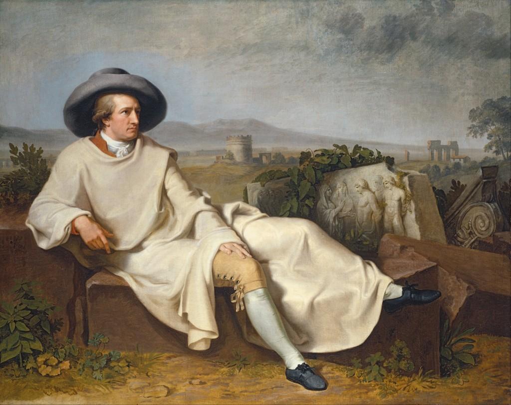 Tischbein. Goethe en la campiña romana, 1787