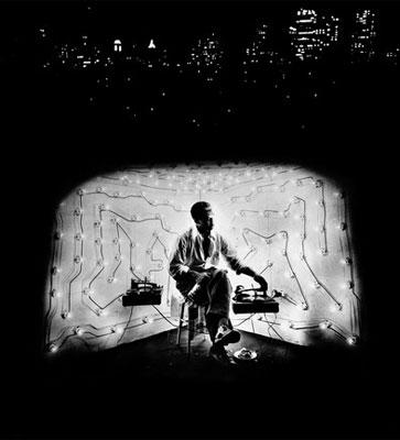 Gordon Parks. Invisible Man Retreat, 1952