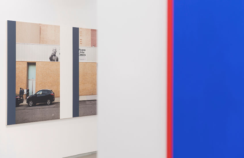 """Ian Wallace. Vista de """"Resonancias"""" en la Galería Parra & Romero"""
