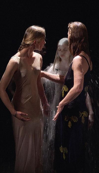 Bill Viola. Tres mujeres, 2008