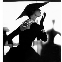 Lillian Bassman. Blowing Kiss, Barbara Mullen, New York, c. 1958. Reinterpreted 1994. Courtesy: Estate of Lillian Bassman © Estate of Lillian Bassman