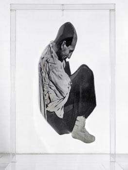 Darío Villalba. La espera blanca, 1973. ©Darío Villalba. VEGAP Madrid, 2019. ©Foto: Pedro Albornoz