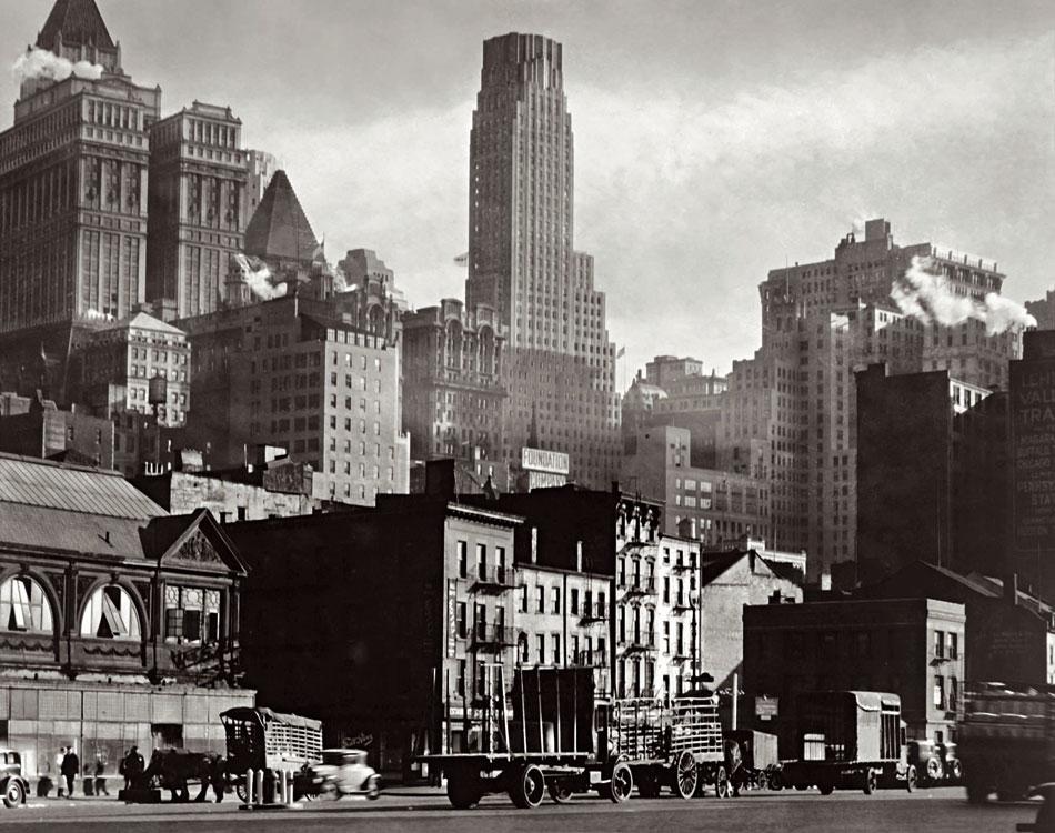 Berenice Abbott. West Street, 1932. © Getty Images/Berenice Abbott