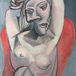 Picasso. Mujer en un sillón, 1939