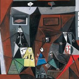Picasso. Las Meninas, 1957
