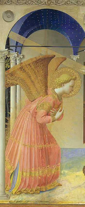 Fra Angelico. La Anunciación