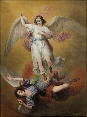 La caída de Luzbel Antonio María Esquivel Óleo sobre lienzo, 275 x 205 cm 1840 Madrid, Museo Nacional del Prado