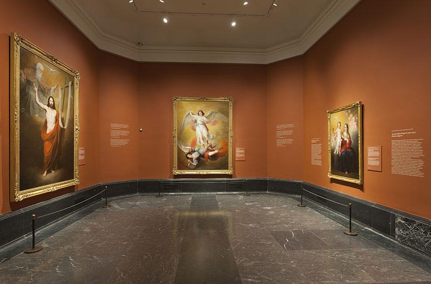 """Imagen de la exposición """"Antonio María Esquivel. Pinturas religiosas"""" Foto © Museo Nacional del Prado"""