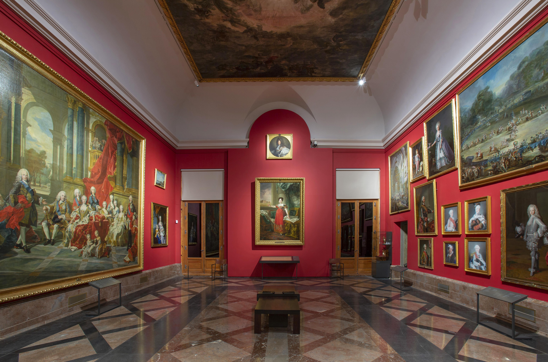 El Prado presenta el Gabinete de Descanso de sus Majestades en la sala 39