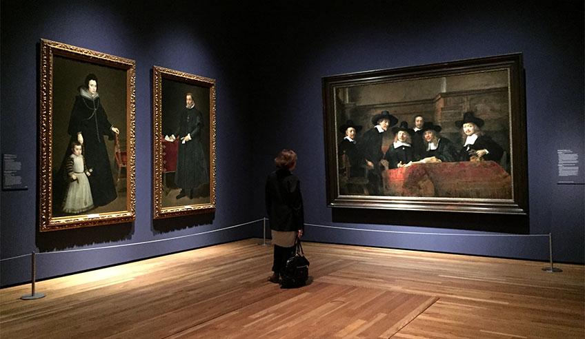 """""""Velázquez, Rembrandt, Vermeer. Miradas afines"""". Museo del Prado, 2019"""