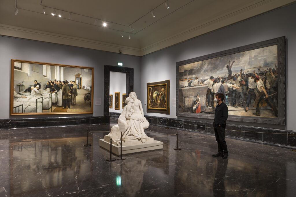 El fin de siglo. Sala 61 A del Museo Nacional del Prado ©Museo Nacional del Prado