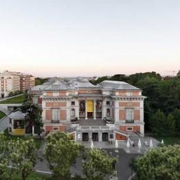 Moneo, Villanueva y Cabrero. Fotografía realizada desde la habitación 516 del Hotel Ritz. © Joaquín Berchez. 2017