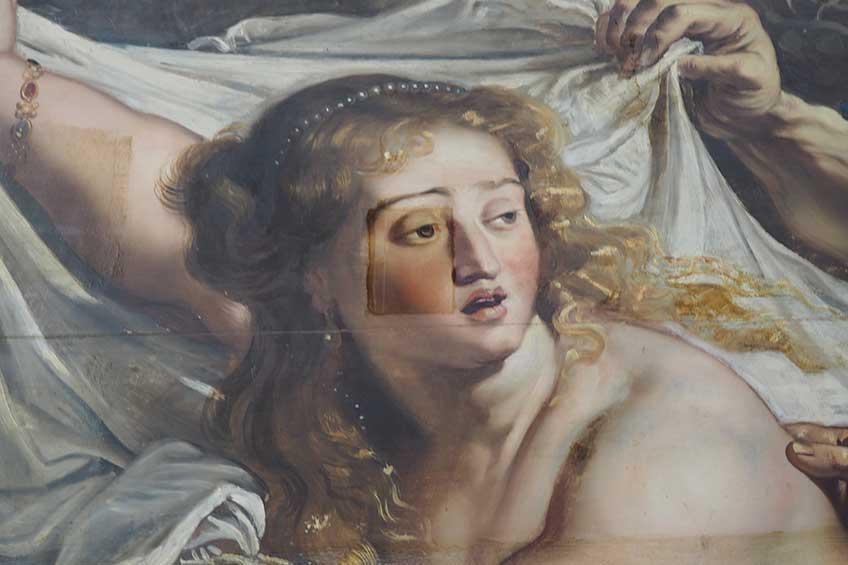 Rubens. Susana y los Viejos, c. 1610. Museo de la Academia de Bellas Artes de San Fernando de Madrid