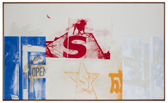 Robert Rauschenberg. Anniversary (Salvage), 1984