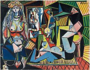 Picasso. Las mujeres de Argel, 1954-1955