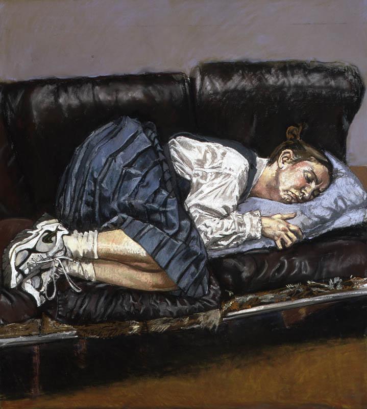 Paula Rego. Serie Abortos, Sin título núm. 4, 1998