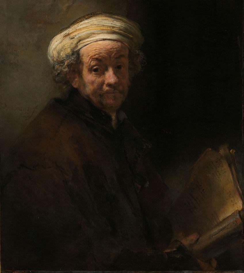 Rembrandt. Autorretrato como apóstol san Pablo, 1661. Rijksmuseum Amsterdam