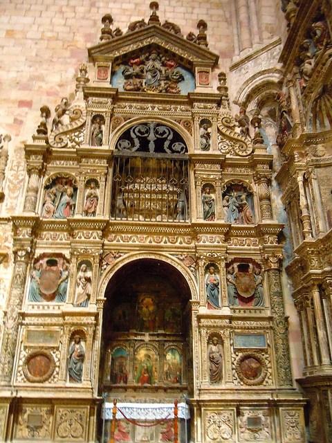 Retablo de santa Librada. Catedral de Sigüenza