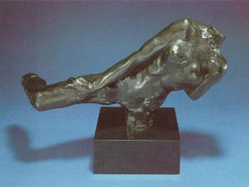 Auguste Rodin. Figura voladora (bronce), 1890