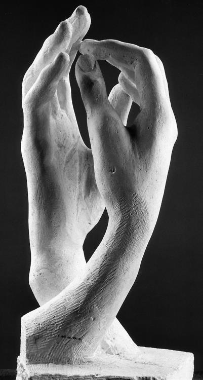 Rodin. La Catedral, 1908