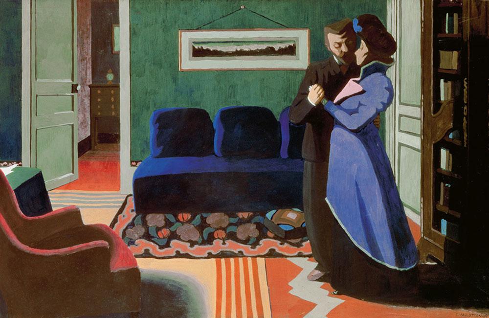 Félix Vallotton. La Visite, 1899. Kunsthaus Zürich