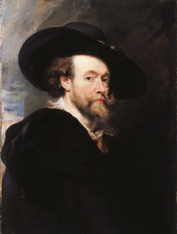 Peter Paul Rubens, Autorretrato. The Royal Collection, Londres. Royal Collection Trust / © Her Majesty Queen Elizabeth II 2013