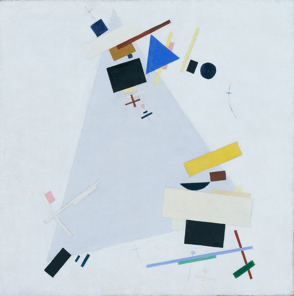Kazimir Malevich. Dynamic Suprematism Supremus, c. 1915.