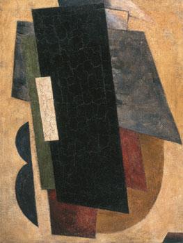 Liubov Popova. Arquitectura pictórica, 1916 . Colección Ekaterina & Vladimir Semenikhin Cortesía Colección Ekaterina & Vladimir Semenikhin
