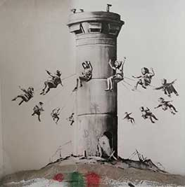 Salon du Connaisseur. Banksy. The walled of Hotel, 2017