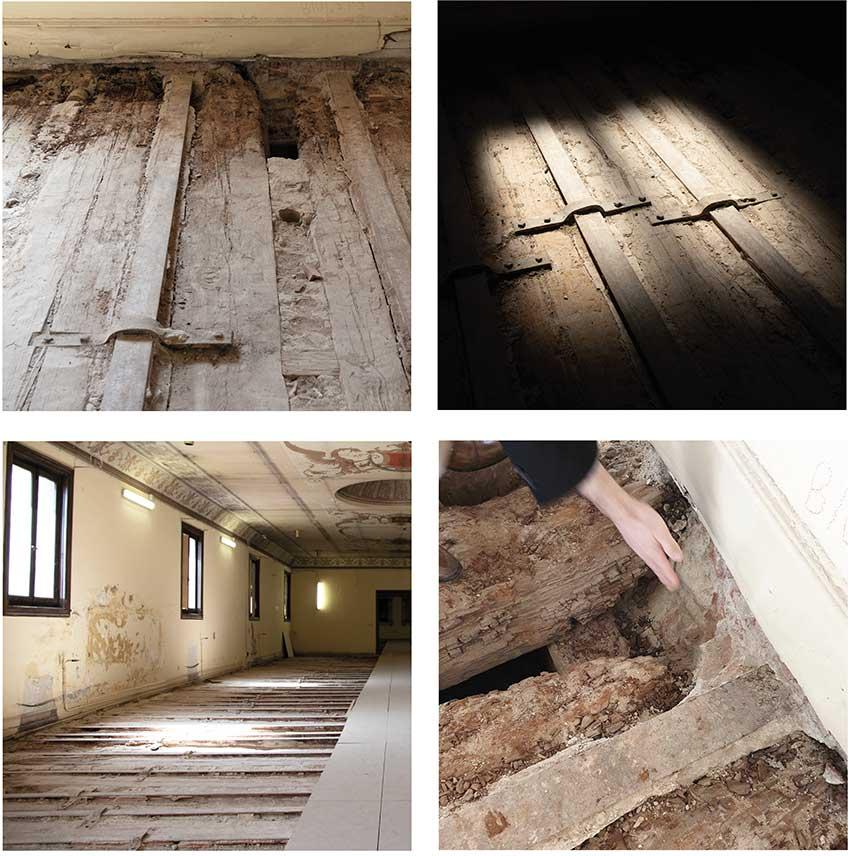 Museo del Prado. Proyecto de reparación y consolidación del forjado techo del Salón de Reinos.